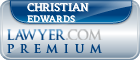 Christian James Edwards  Lawyer Badge