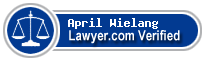 April Michelle Wielang  Lawyer Badge