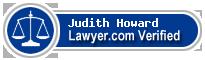 Judith E. Howard  Lawyer Badge