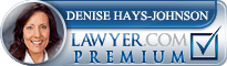 Denise C. Hays-Johnson  Lawyer Badge