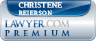 Christene Ann Reierson  Lawyer Badge