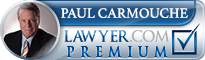 Paul J Carmouche  Lawyer Badge