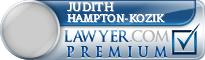 Judith Layne Hampton-kozik  Lawyer Badge