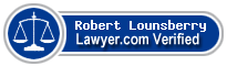 Robert James Lounsberry  Lawyer Badge