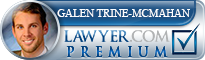 Galen Trine-McMahan  Lawyer Badge