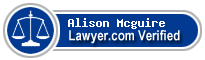 Alison Theresa Mcguire  Lawyer Badge