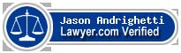 Jason James Andrighetti  Lawyer Badge