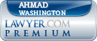 Ahmad Shariyf Washington  Lawyer Badge