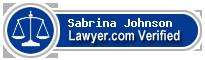 Sabrina L. Johnson  Lawyer Badge