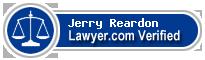 Jerry Reardon  Lawyer Badge