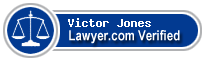 Victor Craig Jones  Lawyer Badge