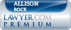 Allison Michelle Rock  Lawyer Badge