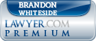 Brandon Tanner Whiteside  Lawyer Badge