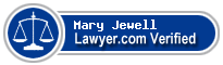 Mary E. Jewell  Lawyer Badge