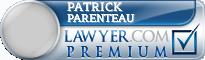 Patrick A. Parenteau  Lawyer Badge