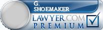 G. F. Shoemaker  Lawyer Badge