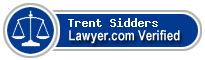 Trent R. Sidders  Lawyer Badge