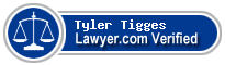 Tyler Andrew Tigges  Lawyer Badge