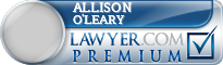 Allison Meredith O'leary  Lawyer Badge