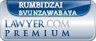 Rumbidzai Bvunzawabaya  Lawyer Badge