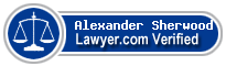 Alexander Louie Sherwood  Lawyer Badge