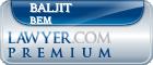 Baljit Kaur Bem  Lawyer Badge
