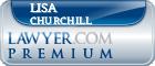 Lisa Churchill  Lawyer Badge