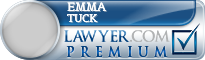 Emma Katharine Tuck  Lawyer Badge