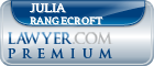 Julia Susan Rangecroft  Lawyer Badge
