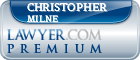 Christopher Stuart Milne  Lawyer Badge