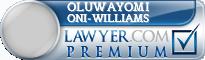 Oluwayomi Adefunke Oni-Williams  Lawyer Badge