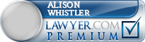 Alison Clare Whistler  Lawyer Badge
