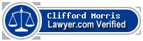 Clifford George Morris  Lawyer Badge