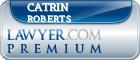 Catrin Eleri Roberts  Lawyer Badge
