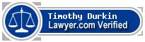 Timothy Francis Durkin  Lawyer Badge