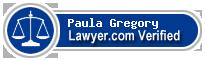 Paula Marie Gregory  Lawyer Badge