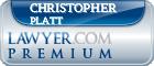 Christopher John Platt  Lawyer Badge