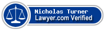 Nicholas Meyrick Brown Turner  Lawyer Badge