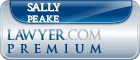 Sally Eunice Fage Peake  Lawyer Badge
