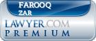Farooq Mohammed Zar  Lawyer Badge