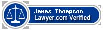 James Edward Thompson  Lawyer Badge