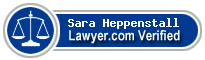 Sara Louise Heppenstall  Lawyer Badge