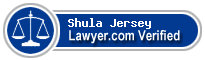 Shula Diane De Jersey  Lawyer Badge