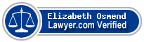 Elizabeth Jane Osmend  Lawyer Badge