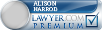 Alison Margaret Harrod  Lawyer Badge