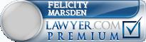 Felicity Anne Marsden  Lawyer Badge
