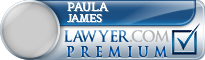 Paula Caryn James  Lawyer Badge
