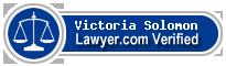 Victoria Solomon  Lawyer Badge