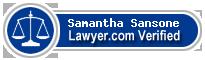 Samantha Kate Fielden Sansone  Lawyer Badge