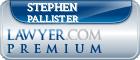 Stephen Pallister  Lawyer Badge